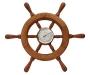 Barómetro roda leme 34cm