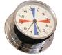 Relógio TSF cromado