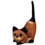 Gato cauda lev 15cm