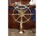 Roda leme latão 110cm